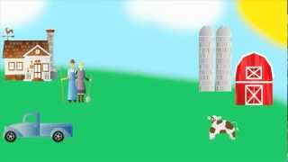 Old MacDonald - Music Video for kids - Cool Kid Tunes
