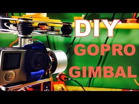 DIY Handheld 2-Axis GoPro GImbal