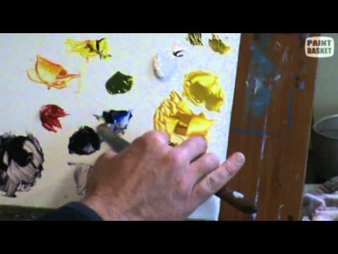 Painting Lesson - Colour Mixing how to mix your colors