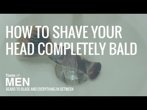 How to Shave Your Head Completely Bald