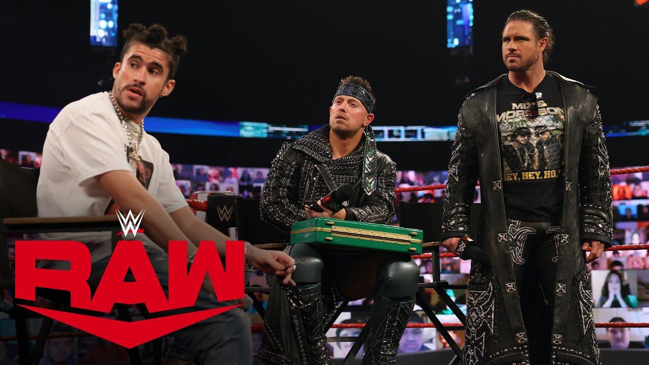 "Bad Bunny brings Damian Priest to ""Miz TV"": Raw, Feb. 1, 2021"