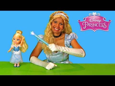 Disney Magical Wand Cinderella Doll ! || Disney Toy Review || Konas2002