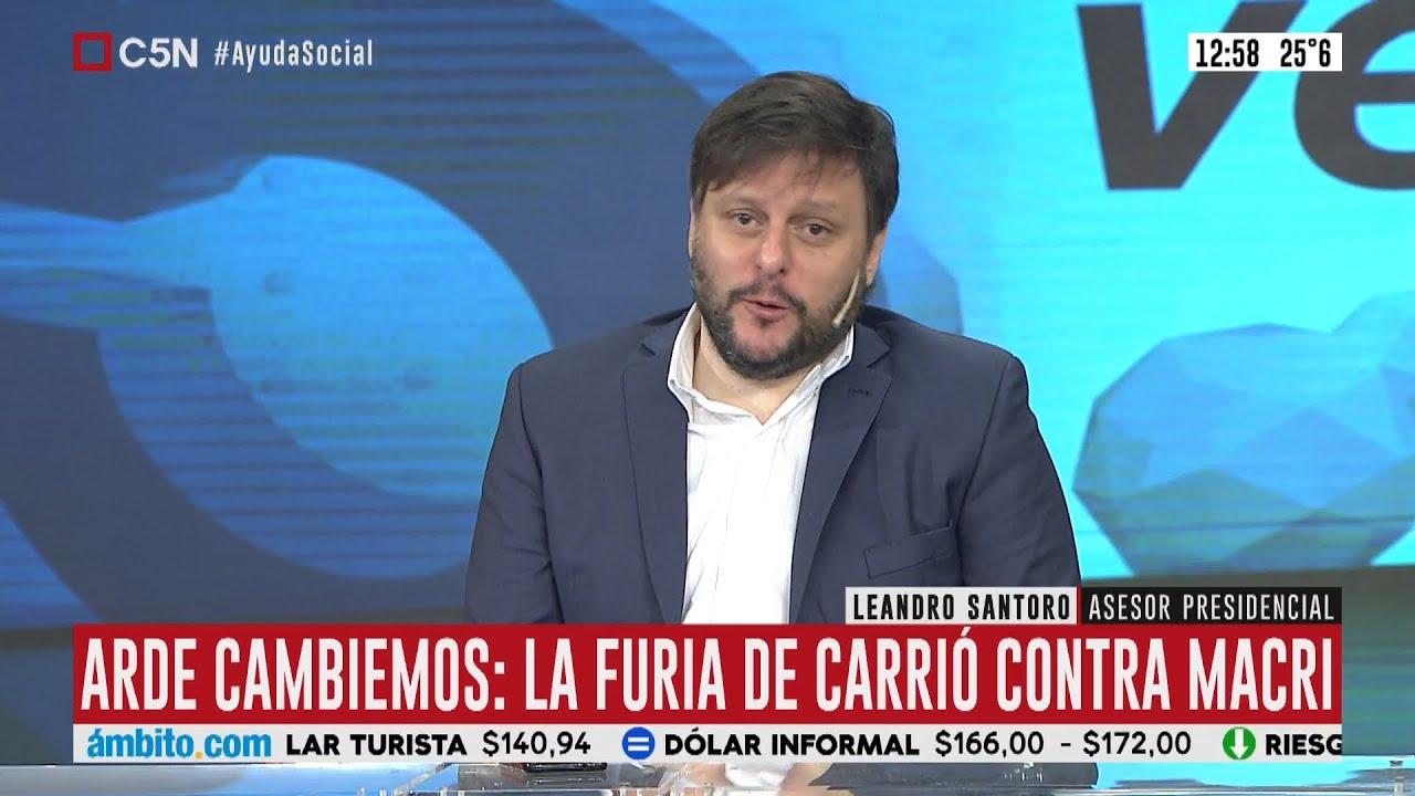 """Leandro Santoro: """"Las consecuencias del endeudamiento las estamos pagando hoy"""""""