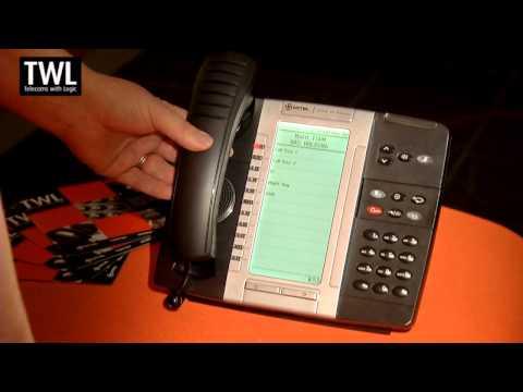 Mitel 5330 & 5330e IP Telephone Handset Tutorial