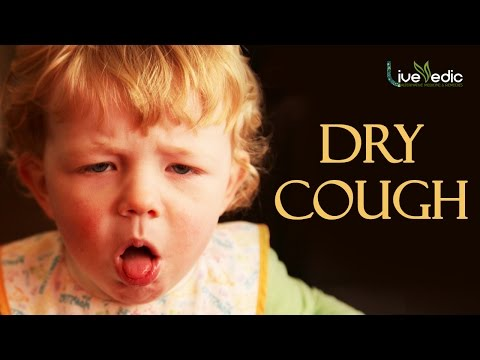DIY: Best Cure For Kids Dry Cough with Natural Home Remedies | LIVE VEDIC