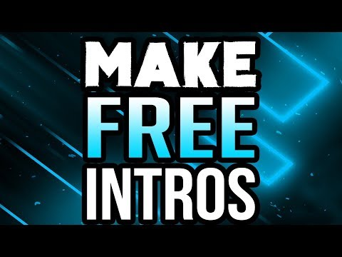 How To Make An Intro For Your YouTube Video for FREE! (2017/2018) ( Hindi / Urdu ) Tutorial )