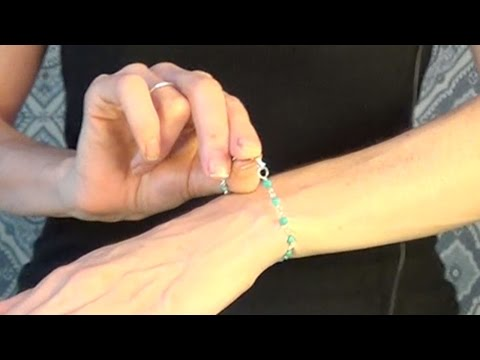 How to Put on a Bracelet with One Hand - Put on a Bracelet By Yourself