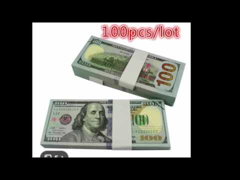 WISH APP fake money UNBOXING