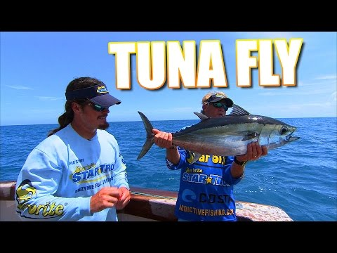 Fly Fishing for Tuna Behind the Shrimp Boats in Key West Florida