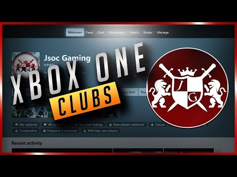 Xbox One | How To Create Clubs (2017)
