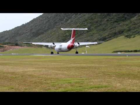 Lord Howe Island approach and landing