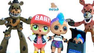 Download #ФНАФ! Свобода для Куклы ЛОЛ Панки FNAF Видео для детей! Мультики с игрушками - MY TOYS POTAP Video