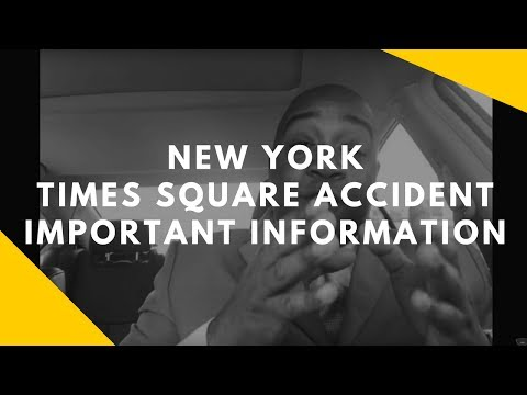 Times Square New York Crash Incident | New York City Unified Victim Identification System