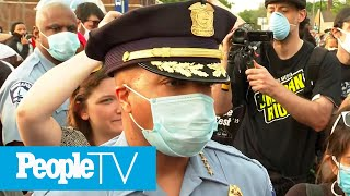 Minneapolis Police Chief Tells George Floyd's Family 3 Other Cops 'Complicit' In Killing | PeopleTV