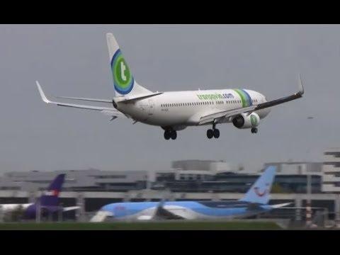 Go around (Runway incident)    Transavia    Flight Report    Paris To Malaga