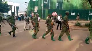 Happening Now At Buganda Court For Bobi Wine.