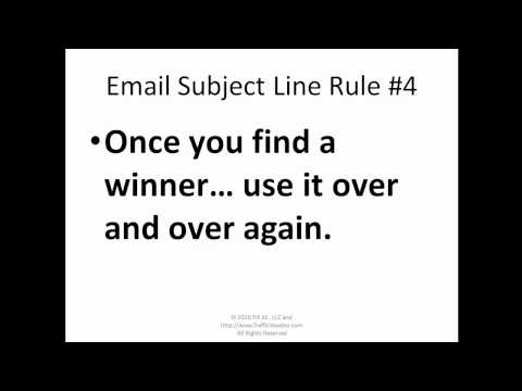 Steal My Highest Converting Email Marketing Subject Lines for  list building