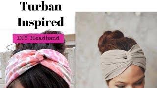 Download DIY Headband Out Of T shirt - Turban Inspired Headbands Video