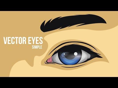 How to create a simple eye vector