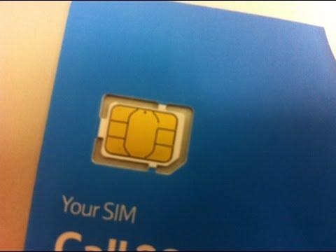 iPhone 5 Nano SIM - First Look - Tesco Mobile O2 Nano SIM Apple iPhone - T-Mobile Vodafone