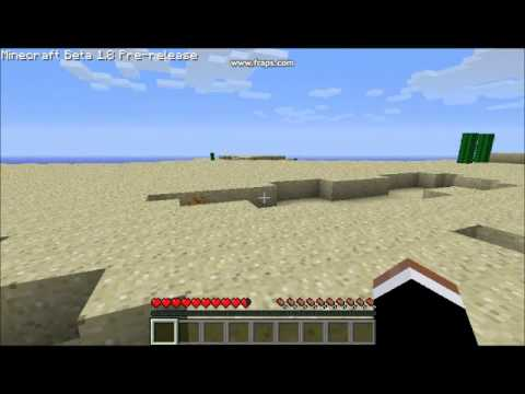 Minecraft 1.8 Npc village seed