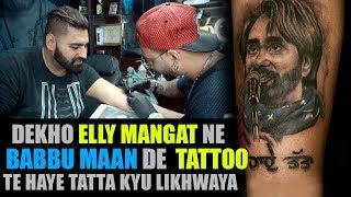 """Elly Mangat"" reveals SECRET behind Babbu Maan"
