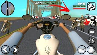 GTA SAN ANDROID:VIDA REAL:MOTOVLOG-QUASE BATI?#1 (NOVA SERIE)