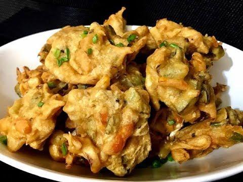 Crispy Chinese Pakora/Pakoda (how to make Chinese Pakora)
