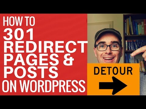 How To 301 Redirect A WordPress Page Or Post