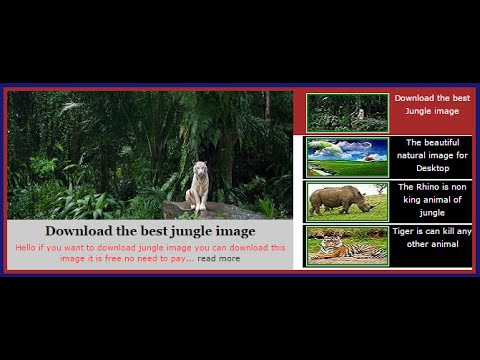 New Style Featured Slider For Website