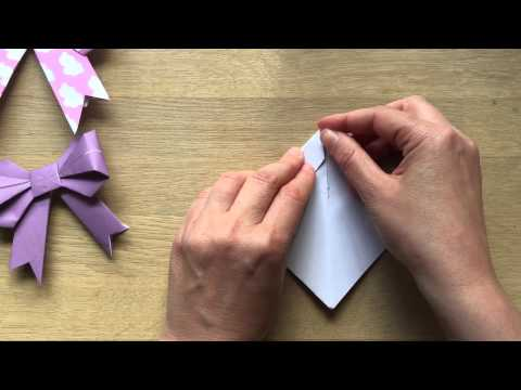 How to Make Paper Bows Kirigami