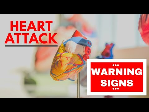 Body Warns 1 Month Before Heart Attack- 7 Warning Signs YOU MUST KNOW