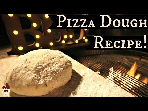 Pizza Dough Recipe | Fast Rising | Dough For The Barbecue