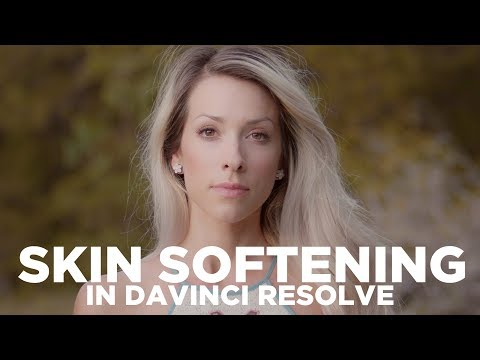 How to Smooth Skin in Davinci Resolve 14 - Beauty Tutorial