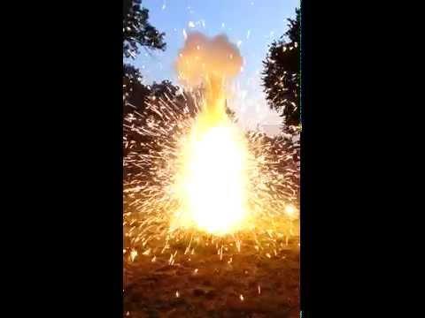 Blue Balls firework