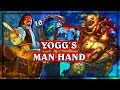 Yogg Man's Hand  ~ Ranked Play ~ Hearthstone Heroes of Warcraft The Witchwood