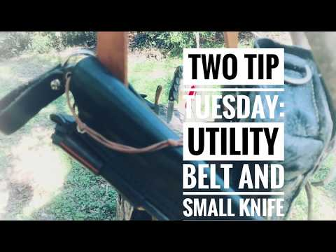 Two Tip Tuesday: Utility Belt and Small Knives