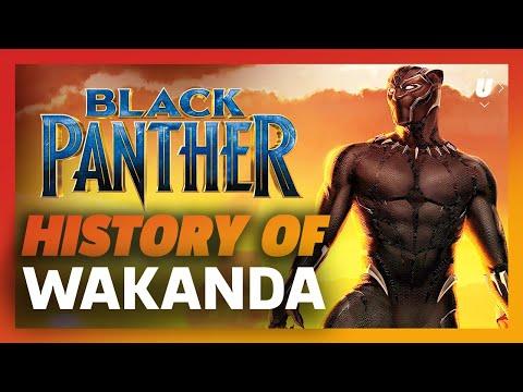 Black Panther - The History of Wakanda: T'Challa's Hidden Kingdom