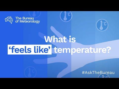 AskBOM: What is 'feels like' temperature?