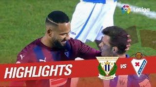 Resumen de CD Leganés vs SD Eibar (1-1)