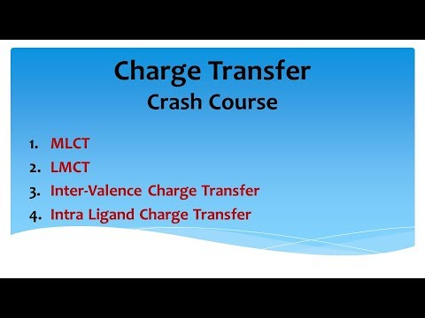 Charge Transfer : Crash Course : Coordination Chemistry