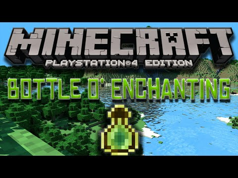 Minecraft - How To Get Bottles O' Enchanting In Survival