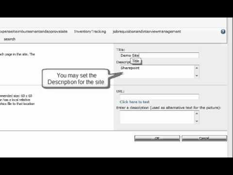 How to change Title and Logo of your SharePoint site