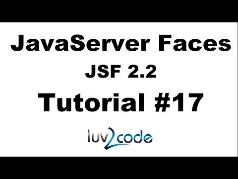 JSF Tutorial #17 - Java Server Faces Tutorial (JSF 2.2) - Pre-Populating Forms