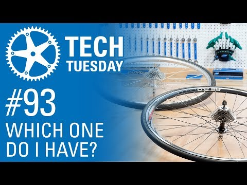 Do I have a Cassette or Freewheel? - Tech Tuesday #93