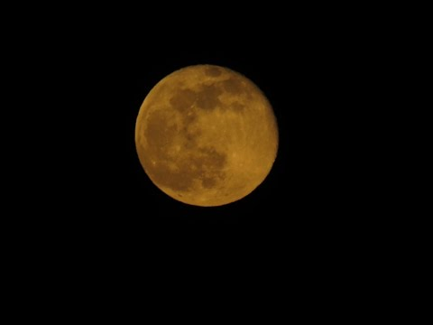 The Gold Moon Of May 11, 2017 From Pelzer SC