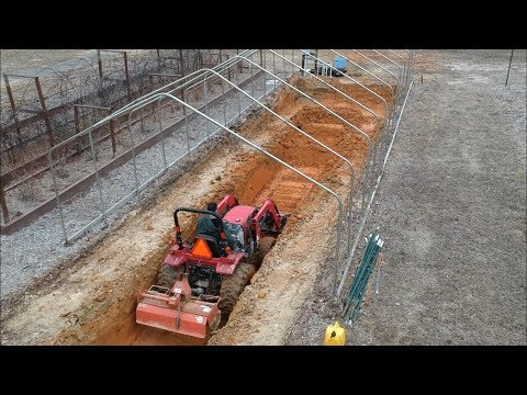 DIY Geothermal Greenhouse Part 3: Earth Battery Excavation