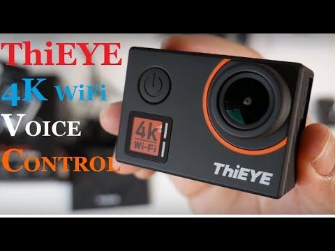ThiEYE T5 Edge 4K WiFi BUDGET Action Sport Camera TEST 2018
