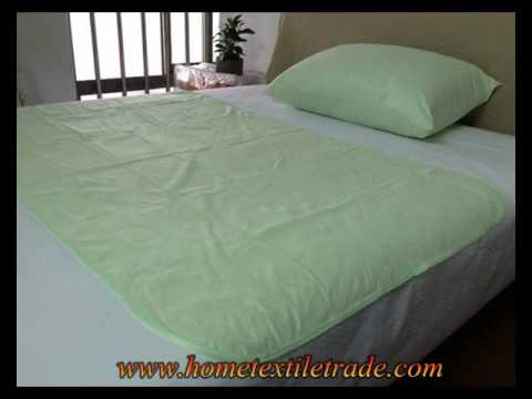 New Quilted Anti Bacterial Waterproof Reuseable Fabric Mattress Protector