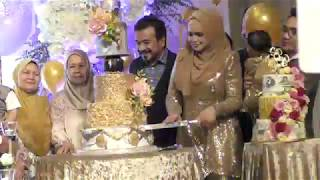 Siti Nurhaliza Potong Kek Hari Jadi Ke-40 Tahun Bersama Tersayang